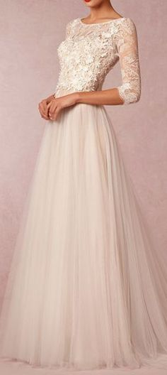 Amelie Gown - second wedding ceremony? This is what my gown would look like!  So beautiful!