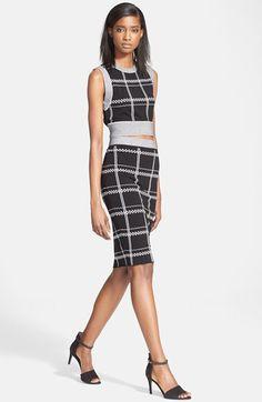 a.l.c. crop top & pencil skirt