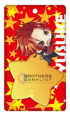 AmiAmi [Character & Hobby Shop] | Brothers Conflict - Acrylic Pass Case: Yusuke