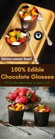 Chocolate Coffee, Chocolate Lovers, Mint Chocolate, Melting Chocolate, Summer Desserts, Easy Desserts, Dessert Recipes, Polish Desserts, Vegetarian Desserts