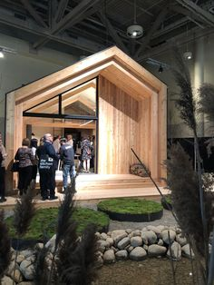 Customized Pre-Fab Cabins are So Cozy You'll Want to Go into The Woods Wood House Design, Cabin Design, Tiny House Design, Cabin House Plans, Tiny House Cabin, Cabin Homes, Cabana, Prefab Cabins, Backyard Studio