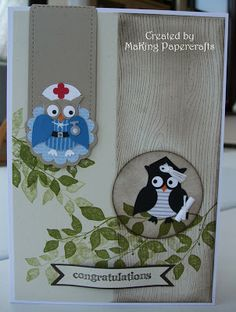 MaKing Papercrafts: 2-Step Owl Punch