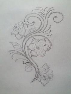 larkspur flower design july birth flower tattoos and piercing pinterest memories sleeve. Black Bedroom Furniture Sets. Home Design Ideas