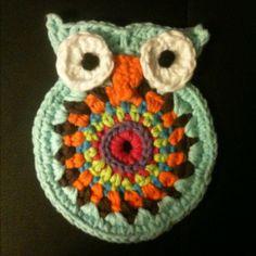 Tried the cute owl crochet pattern...