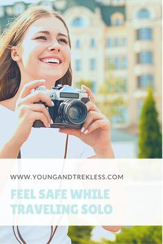 Solo Female Travel can be nerve-racking, especially for first timers. It is imperative to feel safe when traveling solo, so we've made a guide to help you do just that! Every woman should feel empowered to travel solo, and have the tools to feel comfortable while abroad. This guide will tell you everything you need to know about feeling safe while traveling solo!
