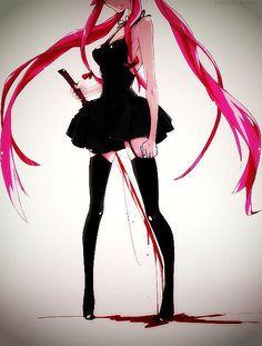 Gasai Yuno - Mirai Nikki (The Future Diary) Otaku Anime, Manga Anime, Art Manga, Art Anime, Anime Demon, Manga Girl, Anime Girls, I Love Anime, Awesome Anime