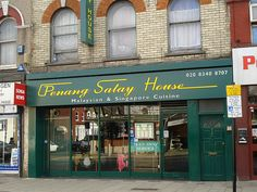 Penang Satay House, Turnpike Lane, Haringey. March '12. Lived in the area for years and only just tried it...great food!