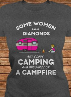 Skull Camping Hiking Hello Darkness My Old Friend Ladies Tshirt