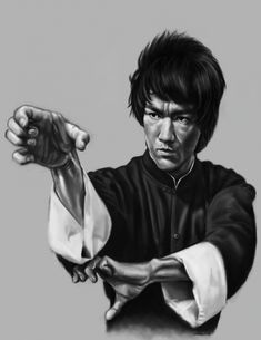Bruce+Lee+by+caban2104