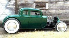 "zeeman57: ""1932 Ford 5-Window Coupe - chopped & channeled Hot Rod """