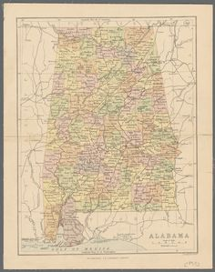 1847 Map of the United States of Mexico :: UNM CSWR Items from ...