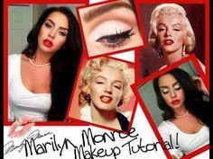 Marilyn Monroe (pin up) makeup tutorial