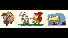 Buchtrailer zum Kinderbuch Flups & Flaps bei bei Pax et Bonum ®