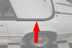 Replace your leaking 1987-1993 Mustang convertible upper well molding to keep your Fox Body sealed up!