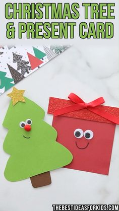 Diy christmas tree 560346378638693870 - CHRISTMAS CARDS – this Christmas tree and present Christmas card are so cute! Free printable template included in the post. These are an easy Christmas craft for kids to make too! Present Christmas, Simple Christmas Cards, Christmas Crafts For Kids To Make, Easy Halloween Crafts, Christmas Card Crafts, Christmas Tree Cards, Xmas Cards, Kids Christmas, Handmade Christmas