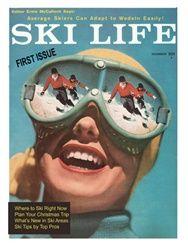 Vintage Ski Print