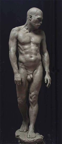 The Florence Academy of Art | Exceptional Work 2013-14. Clay figure by Mitch Shea