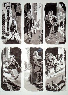 will eisner- the original master of sequential storytelling. Very simple story told quickly, efficiently and still full of atmosphere. Cinematic without aping movies.