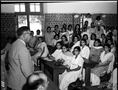1951 :: PM of Afghanistan, Shah Mahmoud Khan, Addressing Students of Delhi University ! #history #historypics #images #pictures  Sardar Shah Mahmud Khan (Pashto: سردار شاه محمود خان - b:1890 d: 27 December 1959) was the Prime Minister of Afghanistan from May 1946 to 7 September 1953. He was from the Pashtun tribe of Barakzai Mohammedzai. He was a brother of Nadir Khan, who ousted Habibullah Kalakani (also known as Bacha-ye Saqqow), and uncle of Zahir Shah, the King of Afghanistan. A Brother, Rare Images, Prime Minister, Old Pictures, Afghanistan, December, University, Students, King
