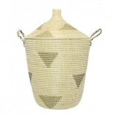 The perfect modern laundry basket or linen storage basket. Available to buy online at everythingbegins.com with worldwide shipping!