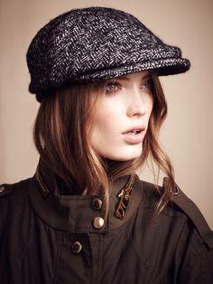 28fa54d2afb Prorsum Jenna Tweed Hat by Burberry on Gilt.com Tartan Pattern
