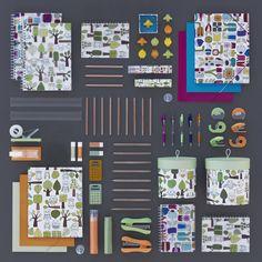 school supplies by Ikea.  Gotta love back to school
