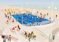 Hoops, Brighton Beach
