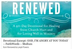 A 40-day journey from lamenting to loving the church again #RenewedDevo