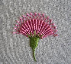 flower stitching