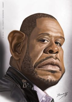 Forest Whitaker Caricature