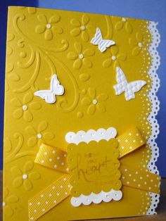 Flowers from the heart by stampinjan2006 - Cards and Paper Crafts at Splitcoaststampers