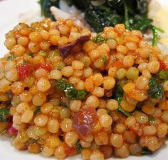 Figareau, cuisine évolutive: Trying Something New: Israeli Couscous With Olives and Roasted Tomatoes