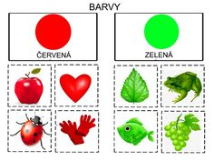 Pro Šíšu: Barvy prirazovani Color Worksheets For Preschool, Kindergarten Colors, Autism Education, Blue Umbrella, Autistic Children, Kids And Parenting, Montessori, Balloons, Teaching