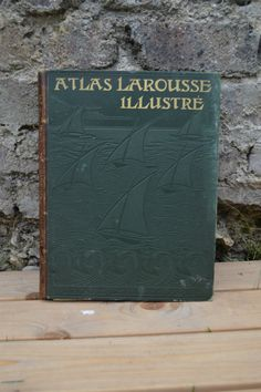 French Vintage Atlas Larousee Illustre 1903 by AmHil704 on Etsy