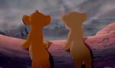 Simba  Everyone knows this disney movie, i always watch it when I was younger and it give me nice memorys.
