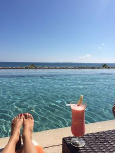 What a gorgeous view! Thanks to Melissa C. for sharing her sunny day with us at Secrets Playa Mujeres Golf & Spa Resort!