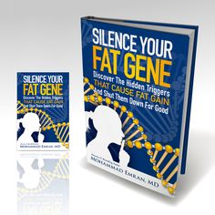 Freelance Design An Awesome Book Cover For Silence Your Fat Gene by AleMiglio