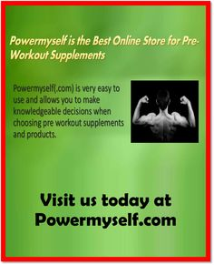 Pre workout supplements significantly improves mental focus as well stimulates increased muscle pumps. The best pre work supplements products in this class take focus and the pump sensation to the next level, producing in an a lot more powerful workout! Click here: http://www.powermyself.com/brands/german-american-gat