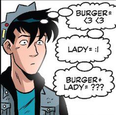 """From ,.Jughead"""" #9 (2015)"""