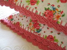 Pillowcase crochet-along