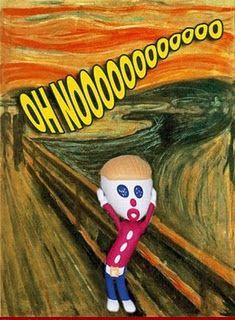 """Oh, nooooooooooooo.   (""""Oh no, Mr. Bill!!!"""")   --Mr. Bill"""