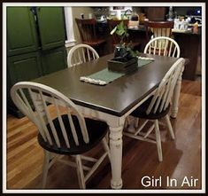 Possible re-do for kitchen table