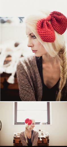 braid (and pretty bow)