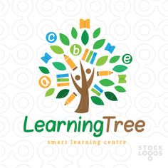 Exclusive Customizable Logo For Sale: Smart Learning Tree | StockLogos.com