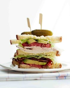 Roasted Chicken Club Sandwich Recipe