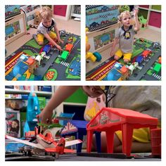 JB is the only one of our Beans who will get out a whole playset and actually play with it.  The others tend to only play with the figures whilst the playsets gather dust?!? #playtime #planes #childsplay