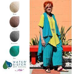 WATERSISTER Cotton Gauze BOHO VEST Drape Front Hi-Lo OS (M-1X/2X) DISC COLORS | eBay