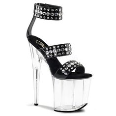 FLAMINGO 894 Blk/Clr. ◈ www.Stripper-Shoes.com >> Pleaser >> Flamingo. ◈ Ships from United Kingdom and USA. ◈ A cool gift. ◈ Great for movie night! ◈ ◈◈◈◈◈ Stripper Shoes ◈ Exotic Dancer ◈ Pleaser Shoes ◈ Platform ◈ #StripperShoes #ExoticDancer #PleaserShoes #PlatfromShoes