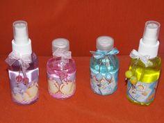 Aromatizadores e Água de lençol, para lembrancinhas de maternidade!