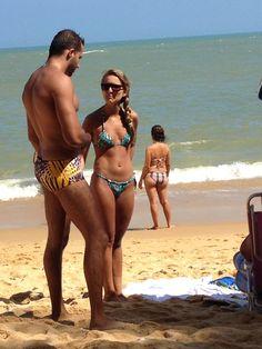 Bikinis and sungas (man-kinis). Bikinis, Swimwear, Lifestyle, Beach, Summer, Fashion, Swim Trunks, Bathing Suits, The Beach